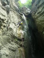 Descenso 12 Cascadas de Liri en pleno estío. Valle de Benasque