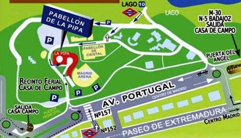 Marat n madrid 2012 previo feria corredor recorrido fotos y concursos moxigeno com por - Recinto ferial casa de campo madrid ...