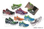 Zapatillas Asics gel neutras julio 2012