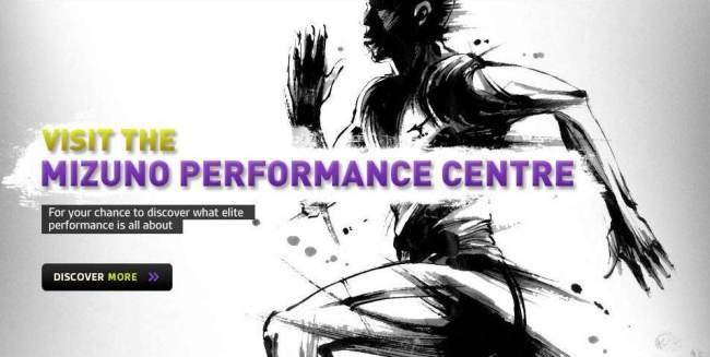 Mizuno Performance center Olimpiadas en Londres