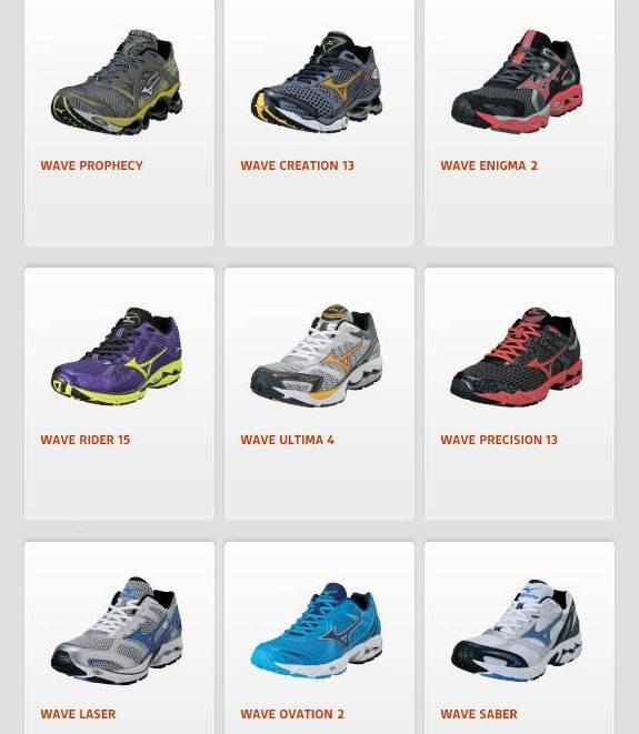 Zapatillas Mizuno: Catálogo 2012 fotos 2