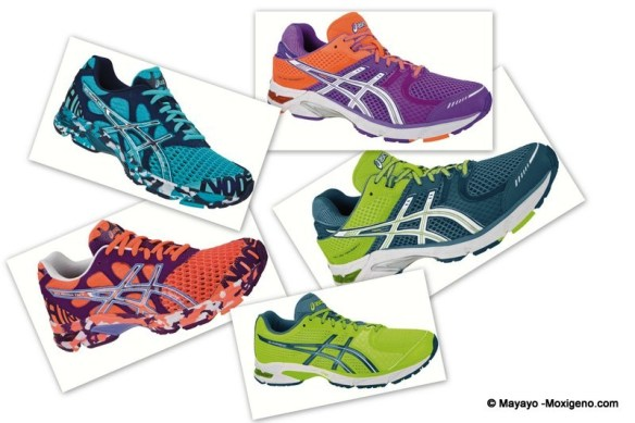 Zapatillas Asics Gel Running Ligeras 2012