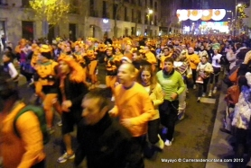 San Silvestre popular Vallecana 2012.