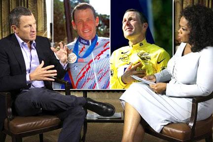El doping de armstrong foto entrevista ophrah