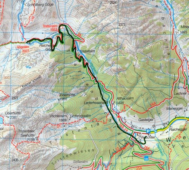 esqui montaña copa del mundo 2013 ahrntal primera prueba mapa recorrido cronoescalada vertical race
