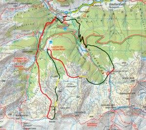 esqui montaña copa del mundo 2013 ahrntal primera prueba mapa recorrido masculino carrera individual