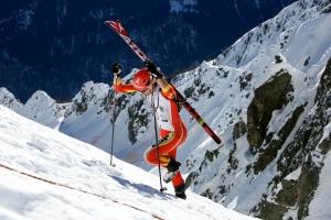 Kilian Jornet en plena disputa de Alpiniski 2013