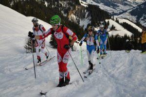 Letitia Roux esqui montaña 1ª en campeonato francia 2013 en carrera