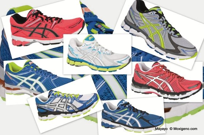 Zapatillas Asics Gel estabilidad 2013: Kayano 19, GT 1000, GT 2000, GT 3000