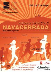 Entrenamiento montaña: Navacerrada campus extrem 2013