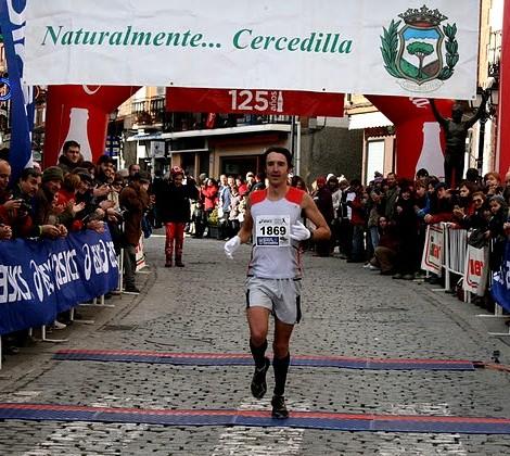 Pablo Vega vencedor cercedilla 2011