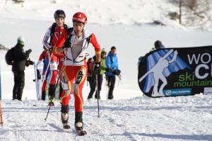 Kilian Jornet esqui montaña copa del mundo ISMF ahrntal 2013. Foto: ISMF press Office.