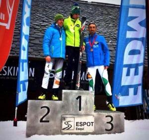 Esqui de Montaña. Campeonato España 2014 FEDME. Foto: L.A.Hernando