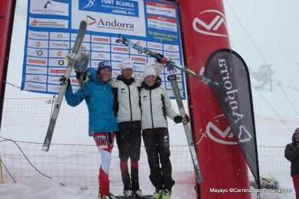 Laetitia Roux vence de nuevo en Europeo Skimo 2014