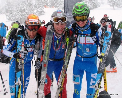 esqui de montaña campeonatos europa skimo 2014 podio senior individual