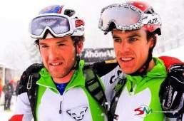 Marc Pinsach y Oriol Cardona en pierra menta 2014. Foto sportdimontagna.com