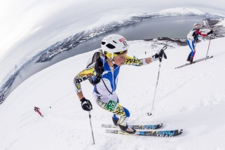 Skimo 2014 tromsö world cup esqui de montaña emelie forsberg