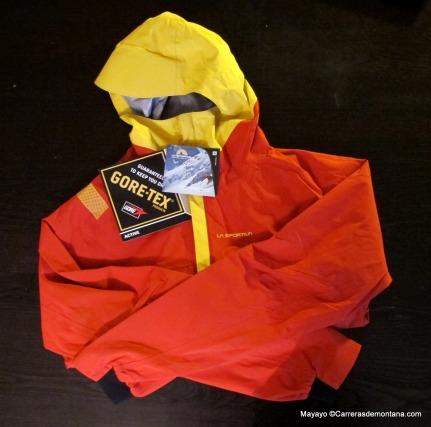 chaqueta goretex active la sportiva stormfighter