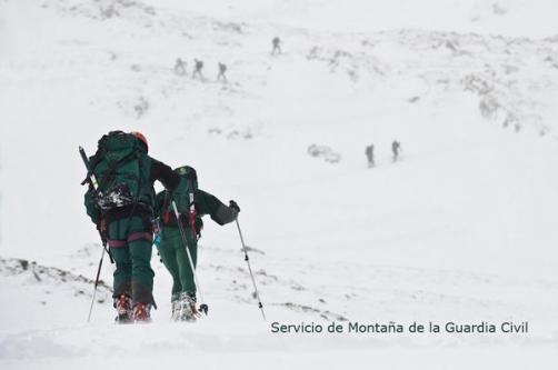 Rescate en Montaña: GREIM Guardia Civil, nacidos en 1967.