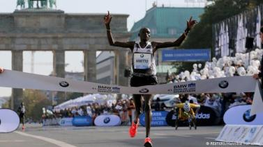 Record Maraton Berlin 2014: Denis Kimetto