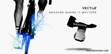 Garmin Vector S sensor potencia ciclismo detalle