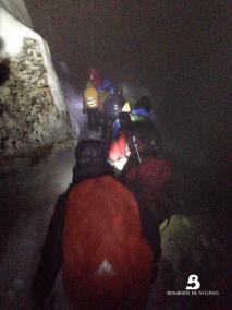 rescate en montaña san isidro
