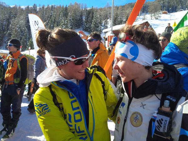 Mireia Miró y Laetitia Roux volverán a competir juntas en la Pierra Menta 2015 de esquí de montaña