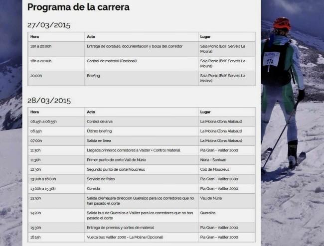 Programa Skimarathon 2015 (2)