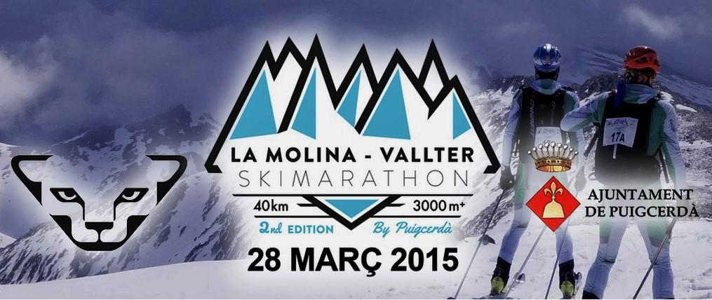 Esqui de Montaña: La Molina celebra su 2º Skimarathon (28MAR-40k/D+3000m) Así la ven Marc Pinsach y Oriol Cardona.