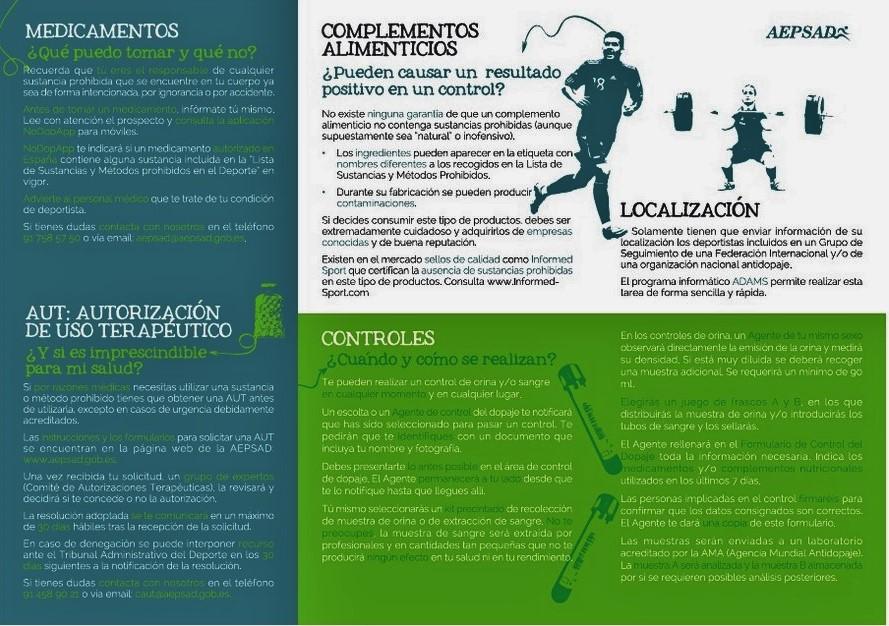 Nutrición Deportiva y Dopaje: Lo que debe saber todo deportista.