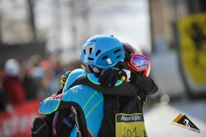 Mireia Miro y Laetitia Roux campeonas Pierra Menta 2015. Foto: Organización.