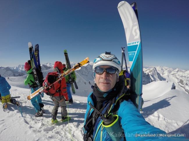 Botas gore tex para skimo: Análisis y  prueba en travesía del Oberland por @kaikuland