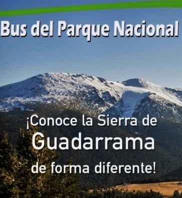 Parque Nacional del Guadarrama: Línea circular bus público periférico (0,50€) Horarios, ruta y detalles completos.