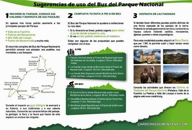 Bus Parque Nacional Guadarrama: Guía de uso