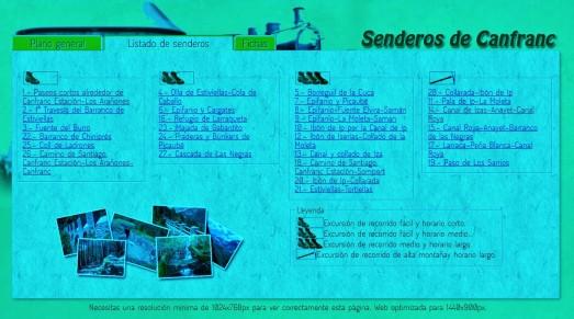 Rutas senderismo - Senderos Canfranc 300km balizados. (2)