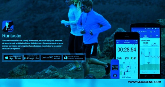 Runtastic para running comprada por Adidas valorada en 220 millones euros