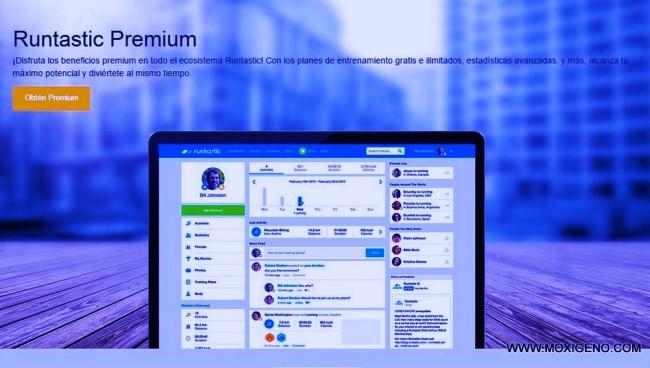 Runtastic premium para running comprada por Adidas valorada en 220 millones euros