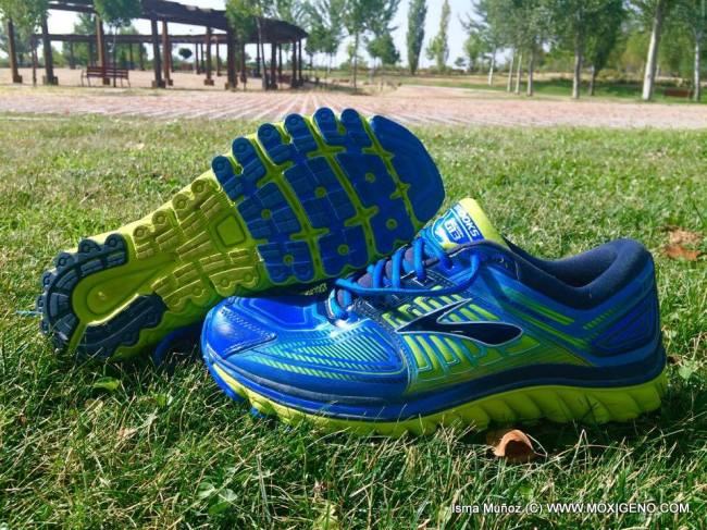 Zapatillas Brooks Glycerin 13. fotos: www.moxigeno