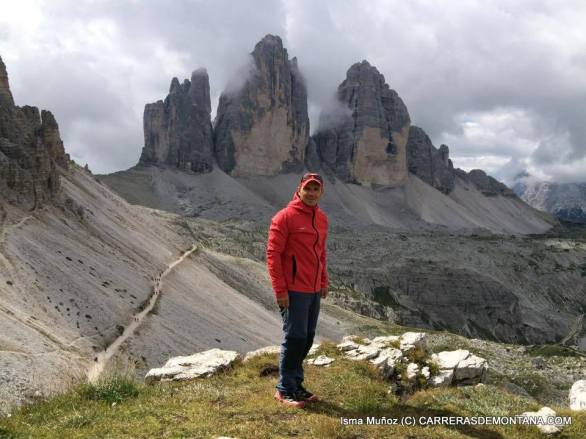 Las tres cimas de Lavaredo, parte de nuestras pruebas.