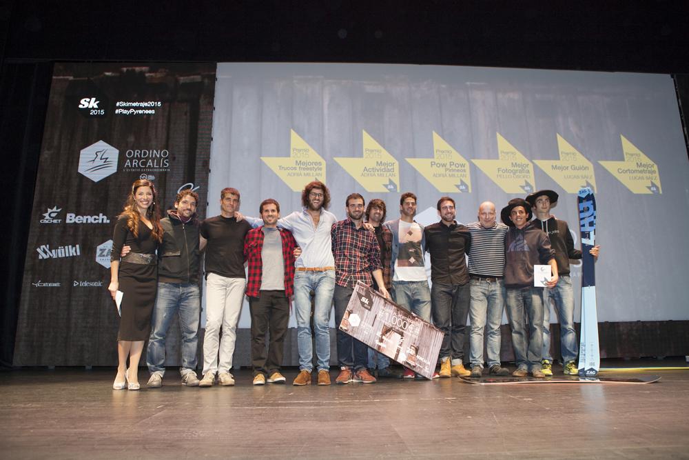 Esquí y cine: SKIMETRAJE Pamplona 2015. Festival cine cortos Ski y Snowboard.