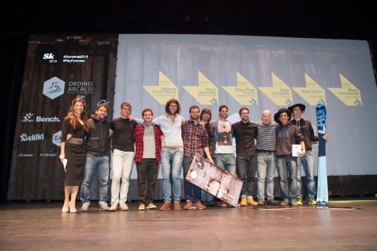 Skimetraje 2015: Foto ganadores y jurado.