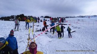 esqui montaña fedme val daran fotos sprint