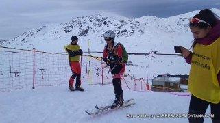 esqui montaña fedme val daran fotos cadete femenino final sprint
