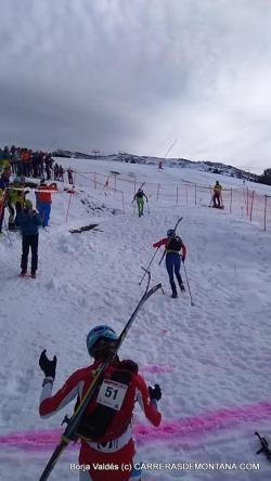 esqui montaña fedme val daran fotos claudia galicia