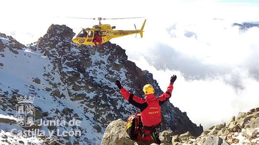accidente montaña almanzor foto 112cyl 2