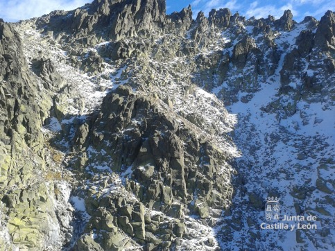 Accidente de Montaña en Pico Almanzor, Gredos. Foto: 112CyL.