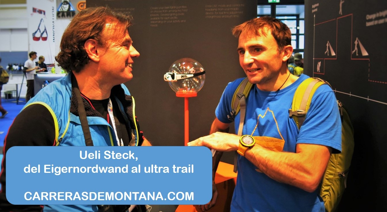 Ueli Steck y la velocidad en montaña: Del record Eigernordwand a las carreras de montaña. Entrevista Mayayo