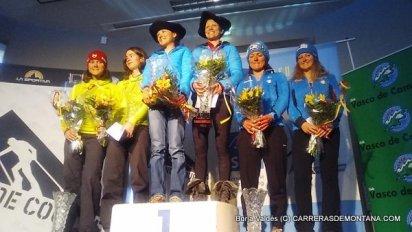 Altitoy Ternua 2016: Podio femenino
