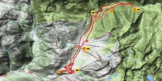 Marxa Beret 2016 recorrido 42km