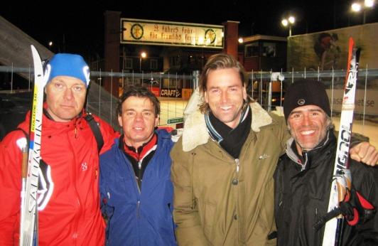 Meta Vasaloppet: Suecos y españoles compartiendo sonrisa tras los 90km